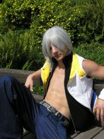 Riku - To hot for you ? by Zack-Fair-7