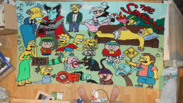 Simpsons Crossover by Maintje