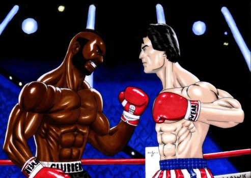 Rocky vs Clubber by The-Masterstyle