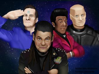 Red Dwarf by xlilslayerx