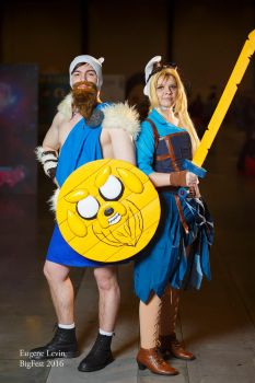 Fionna and Finn - Adventure time by korry1317