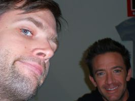 Me and David Faustino by EgonEagle