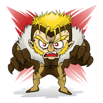 Chibi Sabretooth by Miguelhan