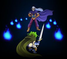Battle with Magus Tribute by ObstinateMelon