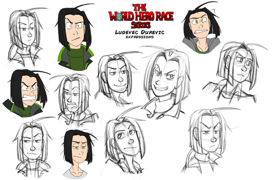 WHR 2017: Ludey Expressions (WIP) by WorldHero