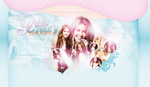 Miley Cyrus Layout by littlebutterflyxxx
