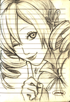 Notebook Sketches: Mami Tomoe by Men-dont-scream