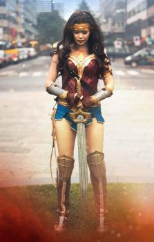 Wonder Woman 2017 Cosplay - God Killer by TineMarieRiis