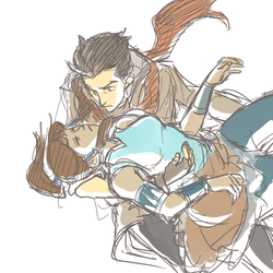 Korra: catch me if you can by Minuiko