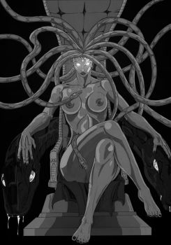 The Gorgon Queen by CHOSENBLOOD