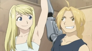 Edward and Winry by xWomiex