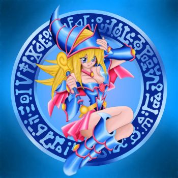 Dark Magician Girl by Lewnartic