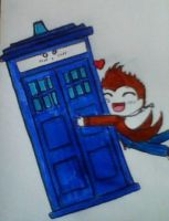 Youre the Key to my TARDIS by SpazMuse