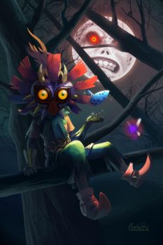 Skull Kid by TsaoShin