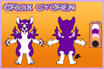Croix Custom Reference Sheet by SamTheMoose101