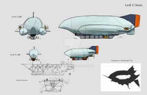 AA: Levft C-Series Cargo Airships by 4nimeCub3