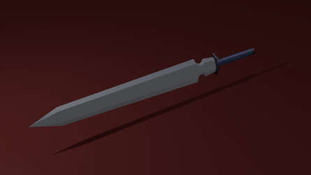 Plain Fantasy Sword by AfterField