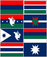 UNAS Flags by DWebArt