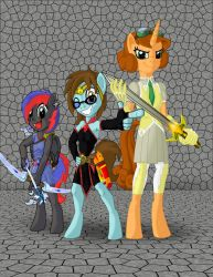 The MLP Anthro Force by marioking89