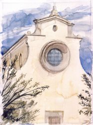 Tuscan Church by cmrollins