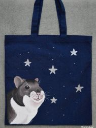 Hamster Tote Bag by wolfysilver
