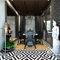 European Styled Dining Room by marauderx666