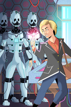 Doctor Who - 13th Doctor vs the Cybermen by OwenOak95