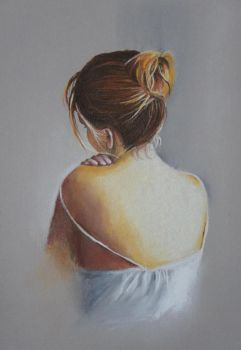Domingo's Girl - Pastels by 6re9
