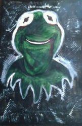 Muppet Madness : Kermit the frog by Hanging-Ghost