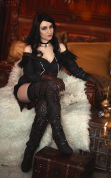 The Witcher 3: Wild Hunt - Yennefer of Vengerberg by FreyaVeles