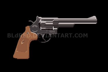 Pixel revolver by bldred