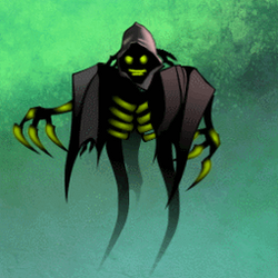 Game Character - Animated - The BitWraith by Seothen
