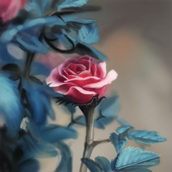 Speedpaint - Rose by Pechschwinge