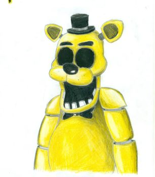 Golden Freddy by Yojama