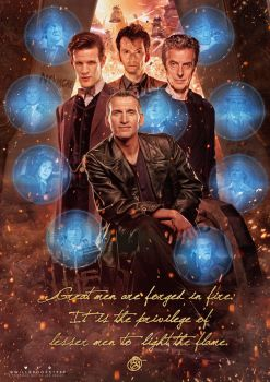 Doctor Who - Great Men Are Forged in Fire by willbrooks