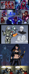 Mass effect-a bunch of moments *huge file* by WinterSpec