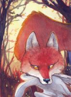 The little Fox who stole a Gander by engelszorn