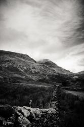 Lake District Black and White Series No 1 by WildgoosePhotography