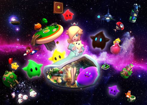Rosalina's galaxy by obeth0