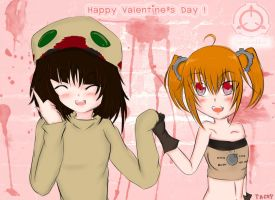 Valentine's Day Gift from SCP Tan by scp-saika