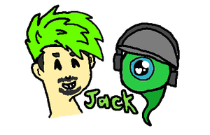 Jacksepticeye by DragonWolfGirl2