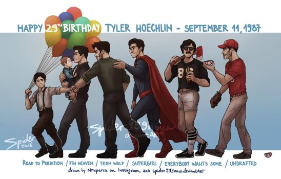 HappyB-Day Tyler by spider999now