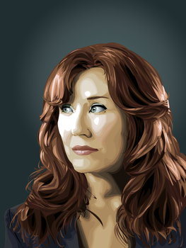 Mary McDonnell by lucadrina