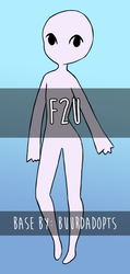 F2U || Base #01 by BuurdAdopts