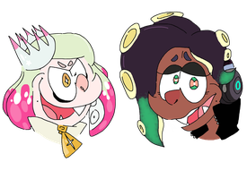 Marina and Pearl by oodlesadoodles