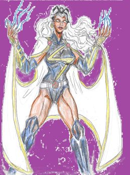 x-men redesign Storm by theaven
