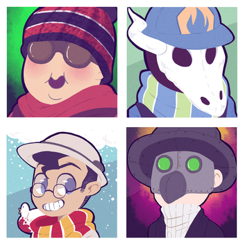 Icon commission pack number 34 by BloodyArchimedes