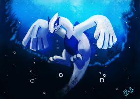 Lugia by IcedEdge