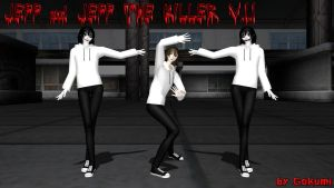 Jeff and Jeff the Killer ver.1.1 by Gokumi DL by Psychopathic-Jester