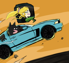 Who Let Eli Drive by CuriousInferno